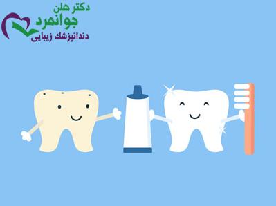 سن استفاده از خمیر دندان