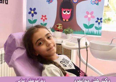 نمونه بیهوشی کودکان برای انجام خدمات درمانی